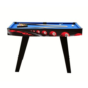 Billard Junior 4ft noir et tapis bleu