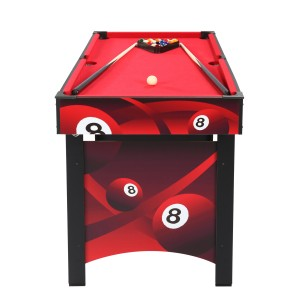 Mini billard enfant rouge