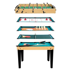 Table multi-jeux 10 en 1