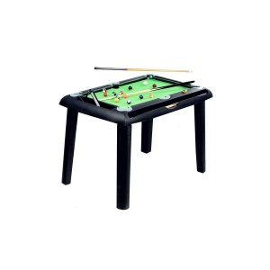 Billard Junior 4ft noir et tapis vert