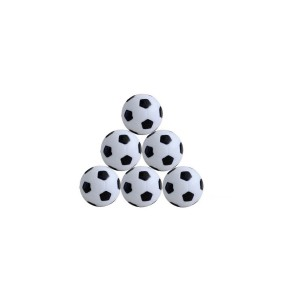 Lot de 12 balles football