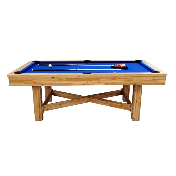 billard 7 4ft c dre et tapis bleu adultes billards leblond loisirs. Black Bedroom Furniture Sets. Home Design Ideas