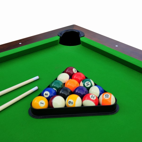 billard 8ft bois fonc et tapis vert billards leblond loisirs. Black Bedroom Furniture Sets. Home Design Ideas